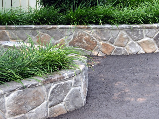 Decorative concrete overlays h v outdoor contracting for Landscaping rocks kelowna