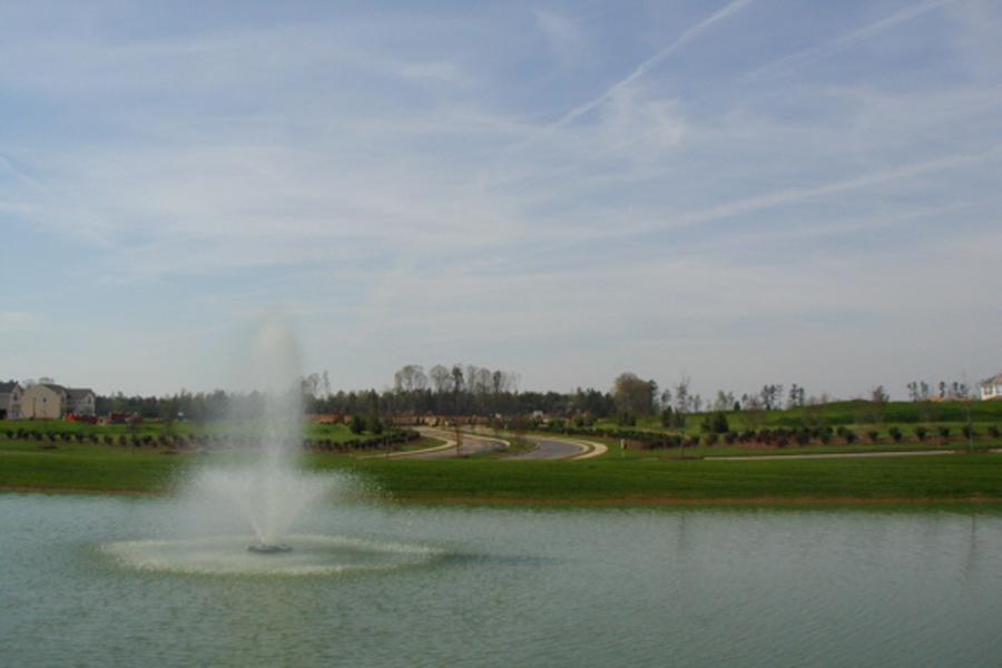 pond aerator fountain