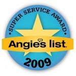 Angie's List Seal 2009