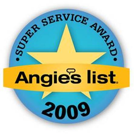 Outdoor Life Inc. – Angie's List Super Service Award – 2009