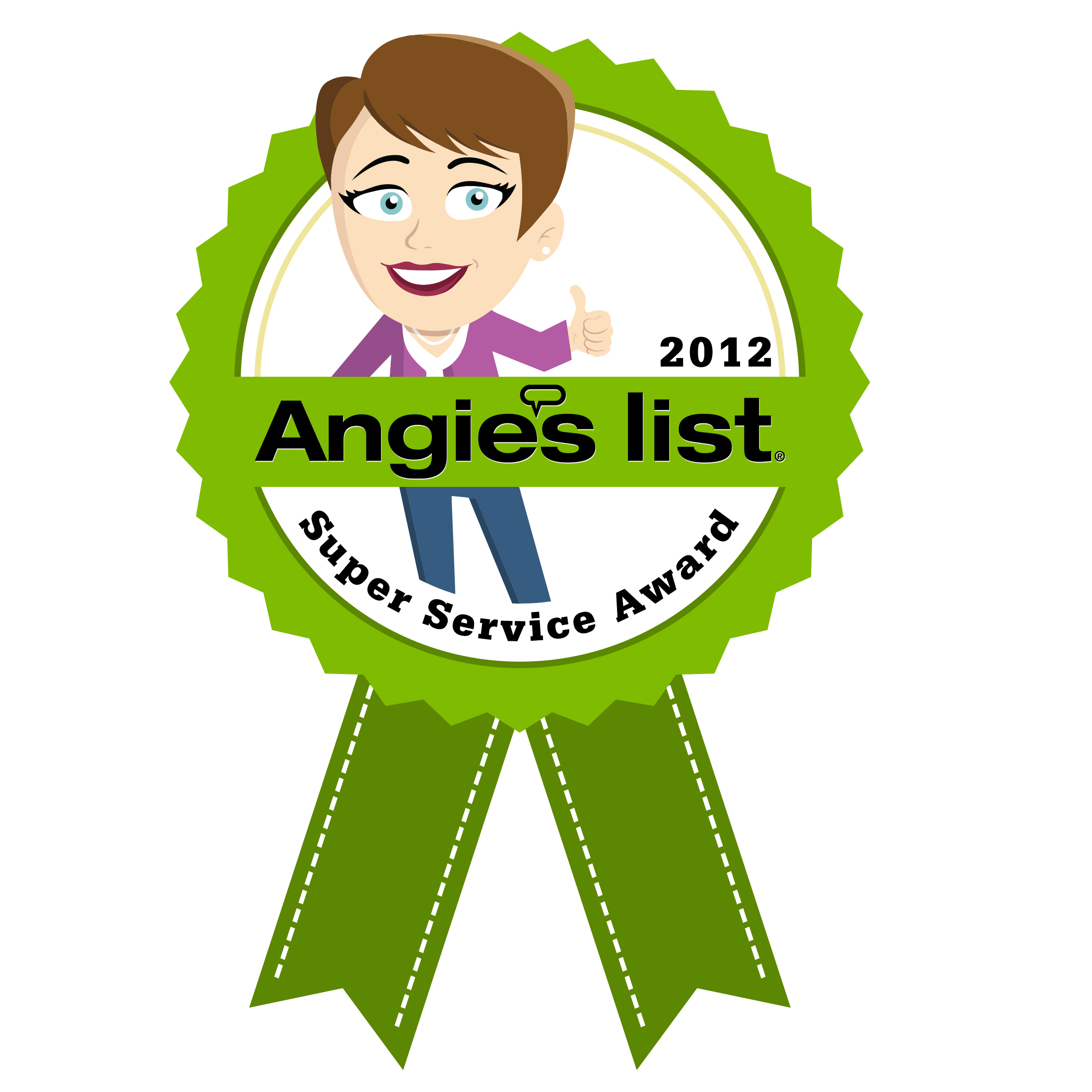 Outdoor Life Inc. – Angie's List Super Service Award – 2012