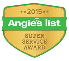 Angie's List Super Service Award Winner for 7 Consecutive Years!