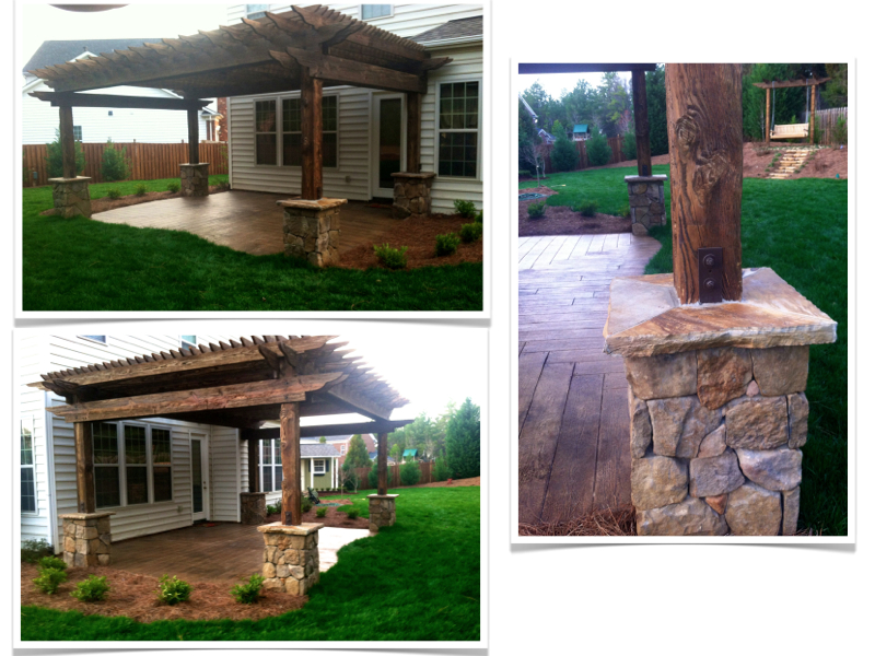 pergola carpentry