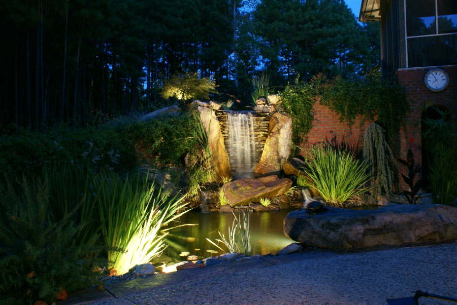 Landscape projects using a design build approach