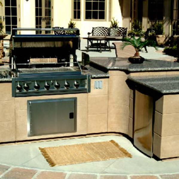 Outdoor kitchen consultation