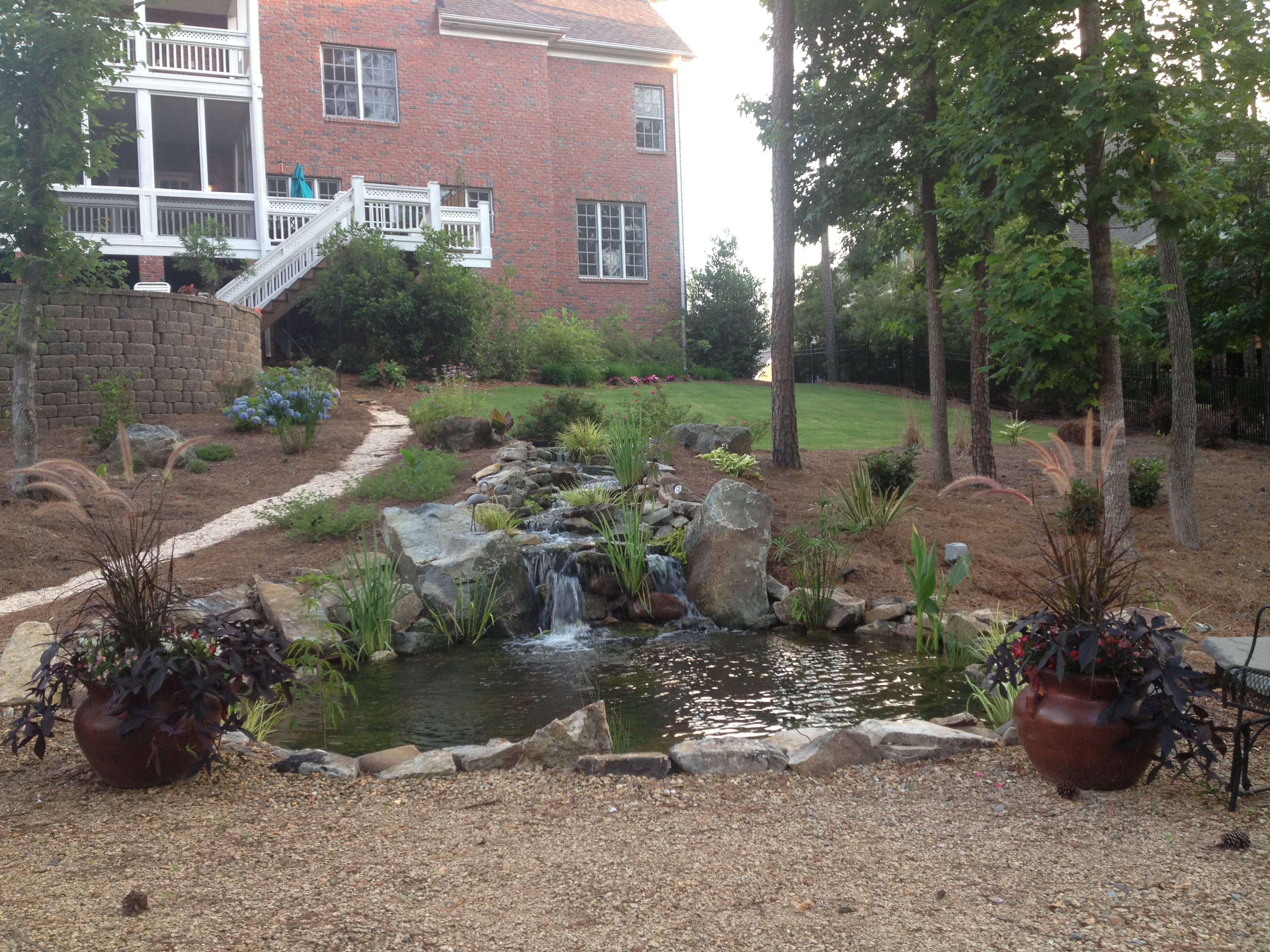 Water Feature Design and Installation