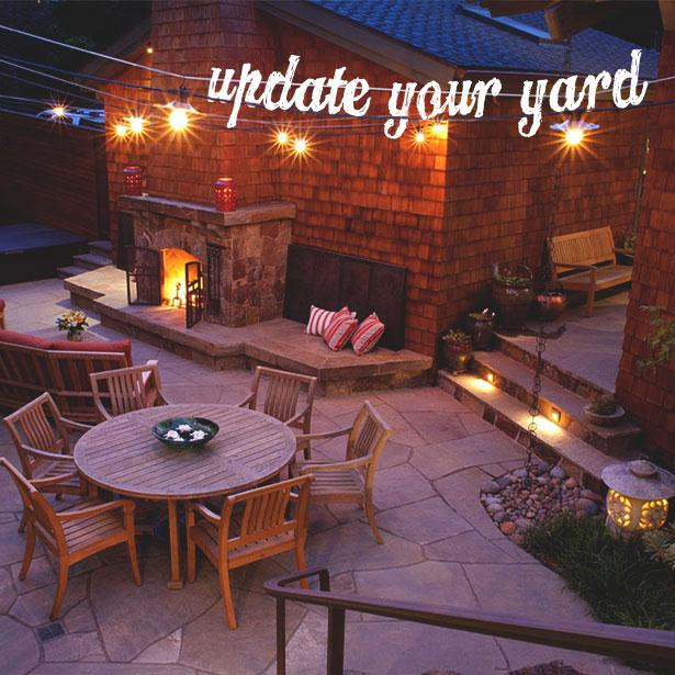 Update your #ConcreteOverlay and add some #LandscapeLighting to your yard!