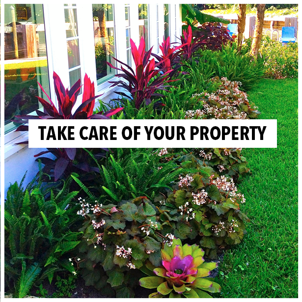 Take care of your property!  Outdoor Life Inc., #LandscapingServices
