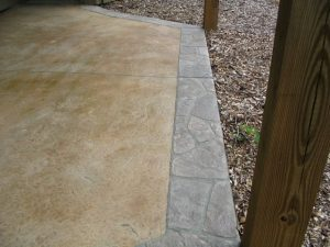 patio concrete overlay