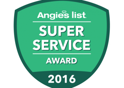 Outdoor Life Inc. Earns Esteemed 2016 Angie's List Super Service Award