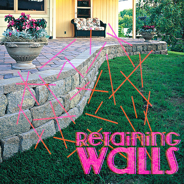 Retaining walls for your landscape. #landscape