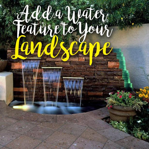 Landscape – Water Features #Waterfeatures
