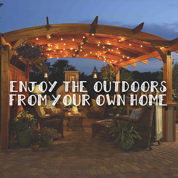 Enjoy the outdoors from you own home