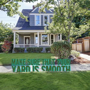 Make Sure That Your Yard Is Smooth #Landscaping