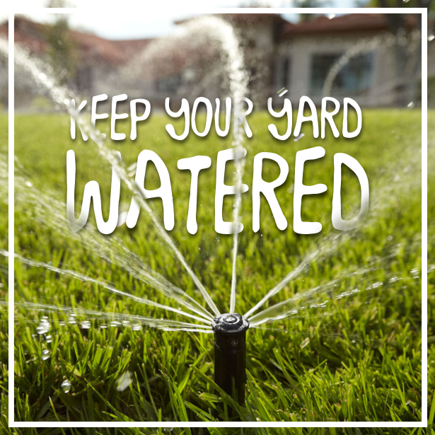 Keep Your Yard Watered – Consider an Irrigation System #irrigationsystem