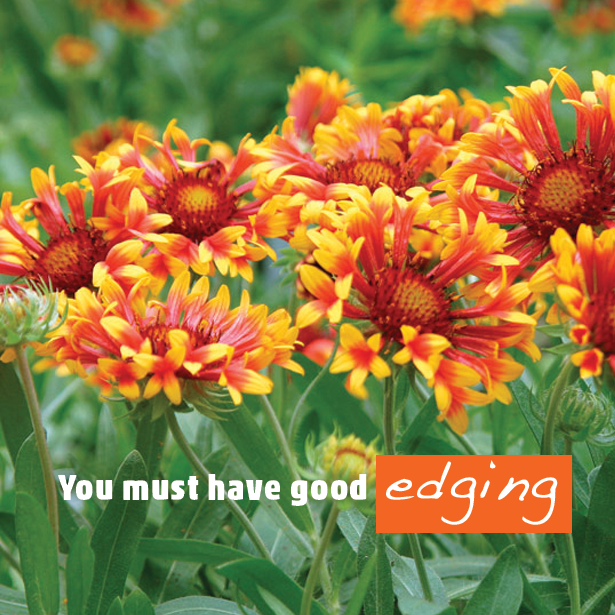 You must have Good Edging #LandscapeEdging