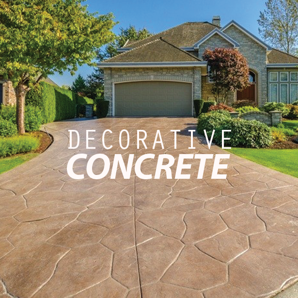 Decorative Concrete Driveways #DecorativeConcrete