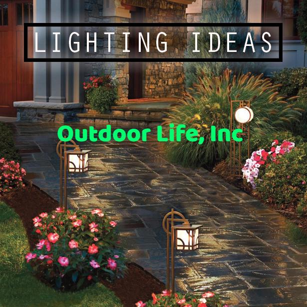 Landscape Lighting Ideas – Outdoor Life, Inc #OutdoorLighting