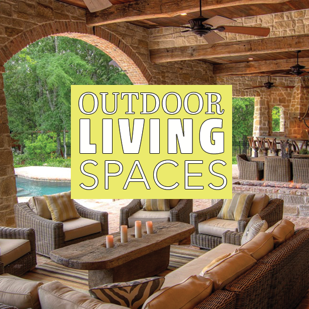 Outdoor living areas make a beautiful addition to your home! #OutdoorLivingSpace