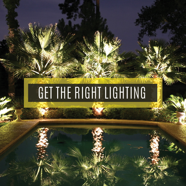 Get the Right Lighting – #LandscapeLighting