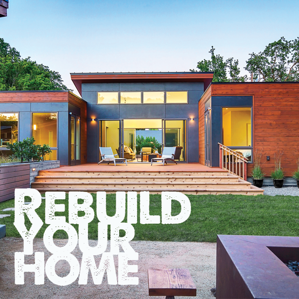 Rebuild Your Home From the Outside In!   #DemolitionServices
