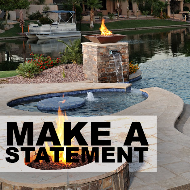 Make a Statement with Decorative Concrete #DecorativeConcrete