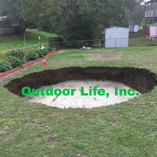 Sinkhole Remediation Services – Outdoor Life, Inc.