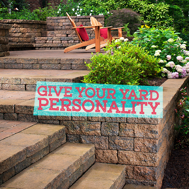 Give Your Yard Personality #OutdoorLife