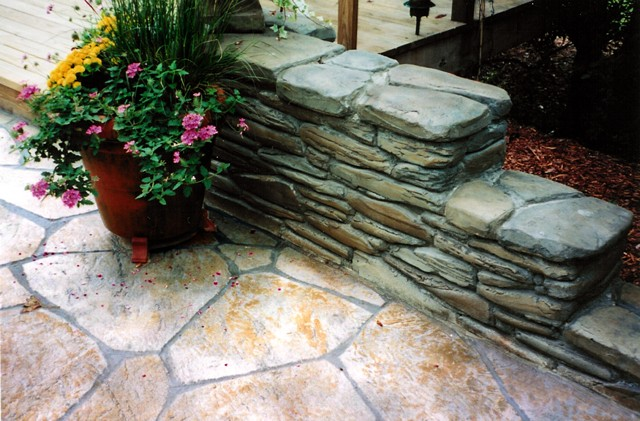 Stone and Brick Masonary Patios