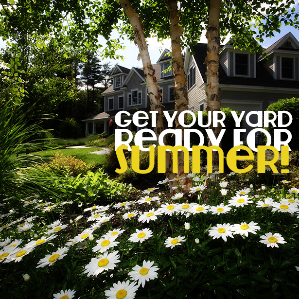 Get Your Yard Ready For Summer!  #OutdoorLife