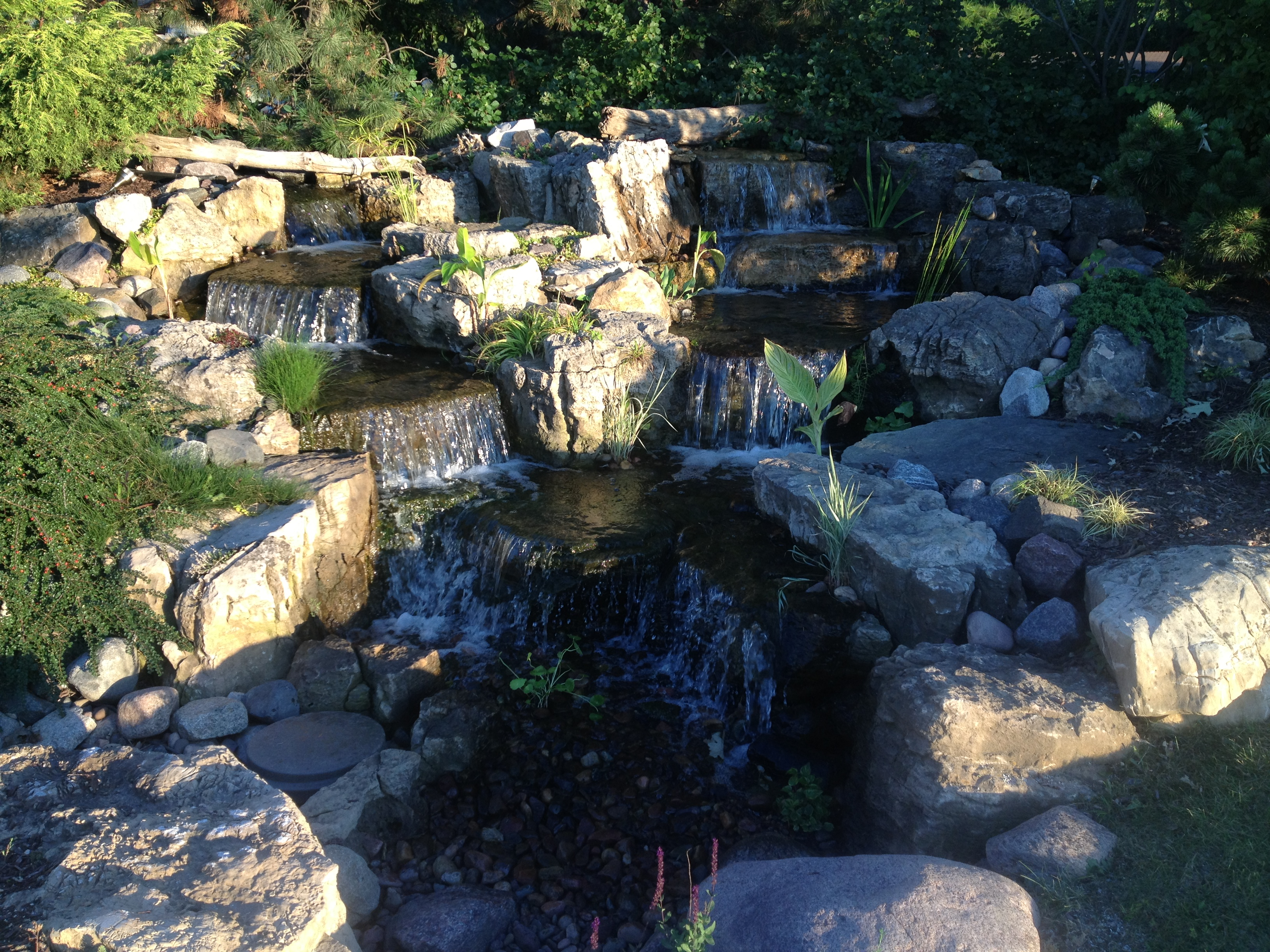 Landscape Contracting and Water Feature Installation