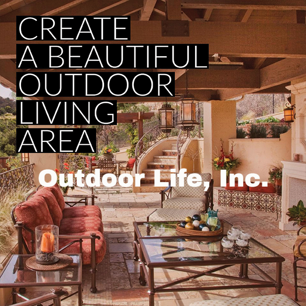 Create Beautiful Outdoor Living Area #OutdoorLife