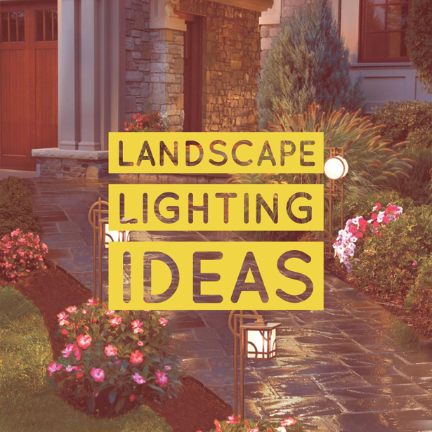 Landscape Lighting Ideas #OutdoorLife