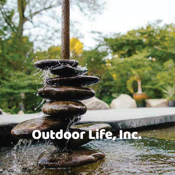 Water features, falls and ponds #OutdoorLife