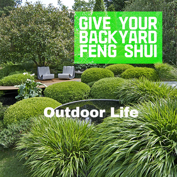 Give Your Backyard Feng Shui #OutdoorLife