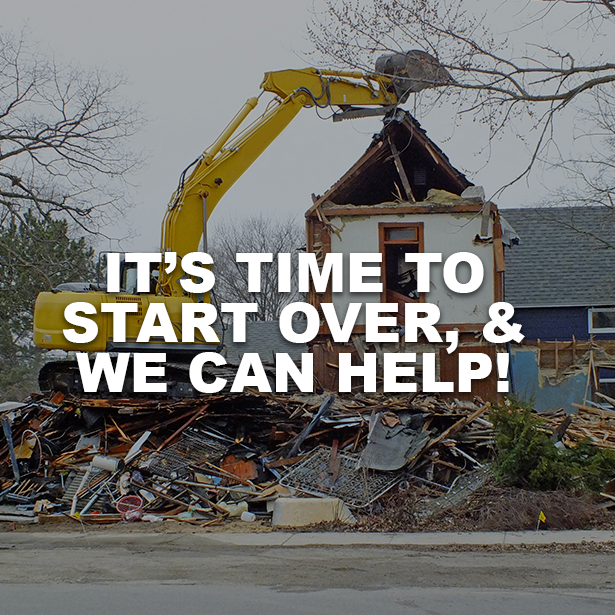 It's Time To Start Over And We Can Help! Outdoor Life, Inc.