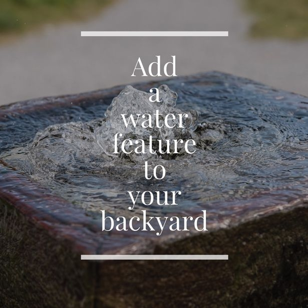 Integrating Water Features In Your Landscape